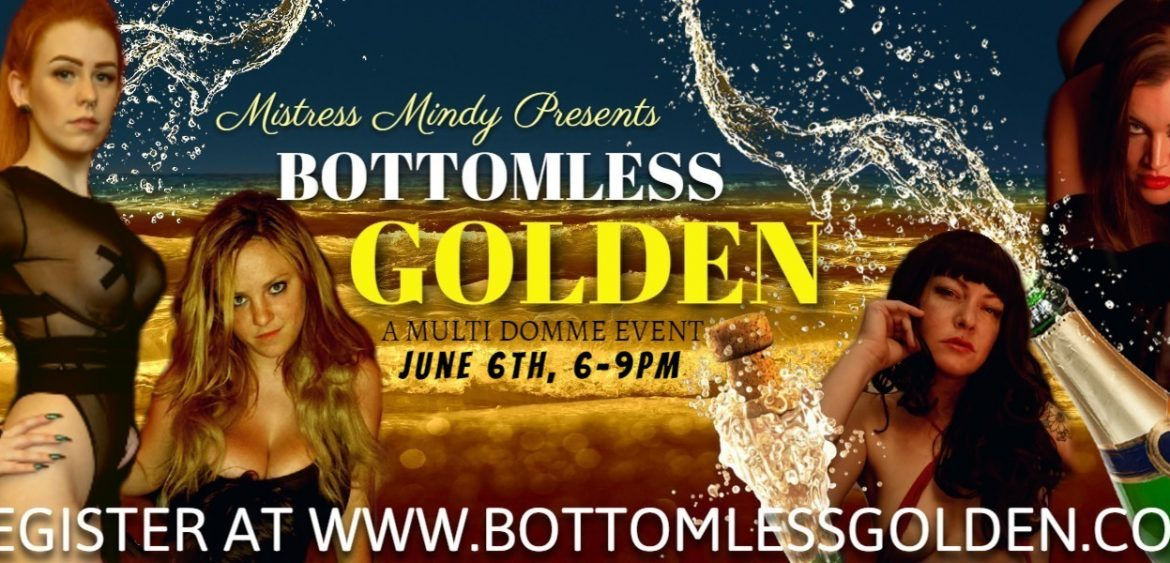 1 Fabulous Toronto Dominatrix? Try 4! Join us for this exclusive golden event!